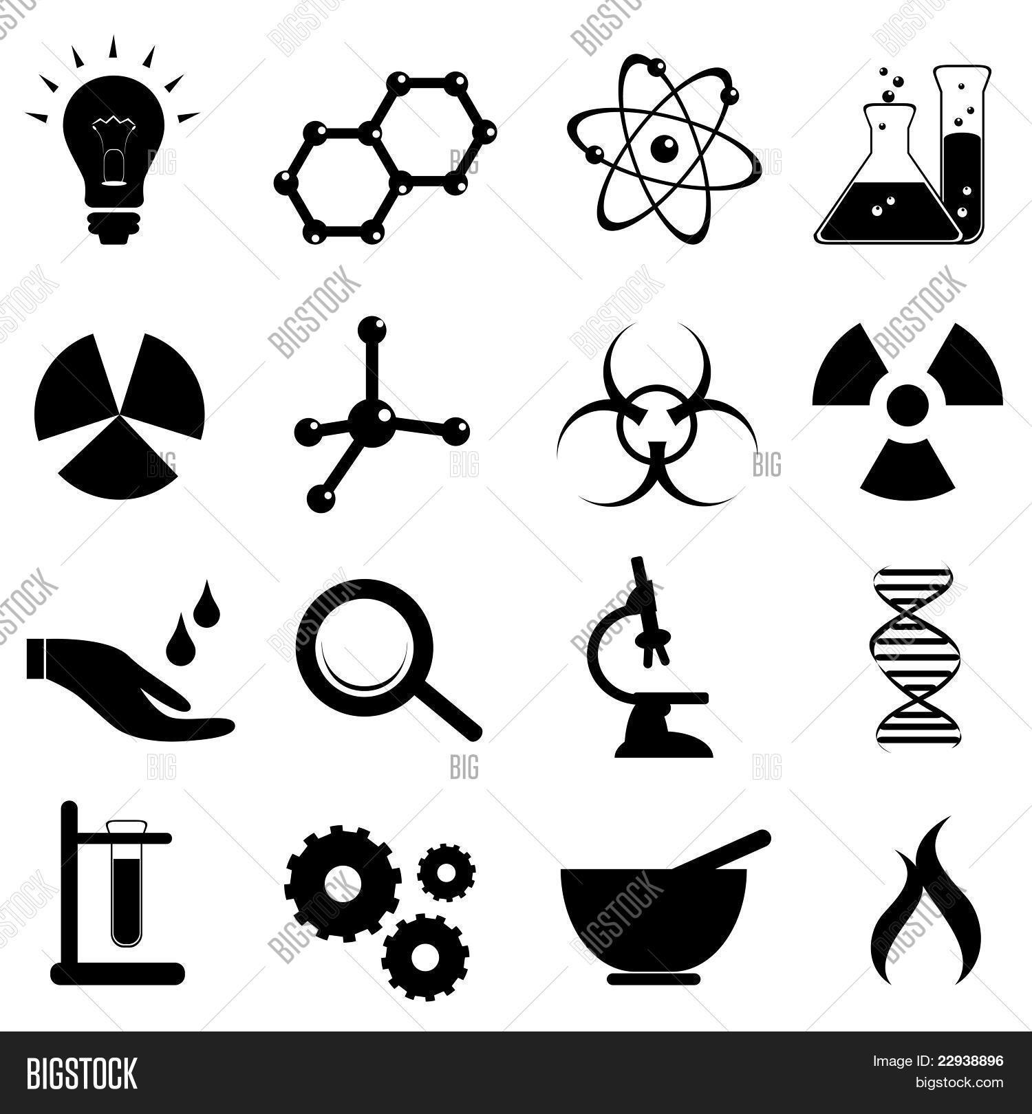Science Icon Set Stock Vector Amp Stock Photos