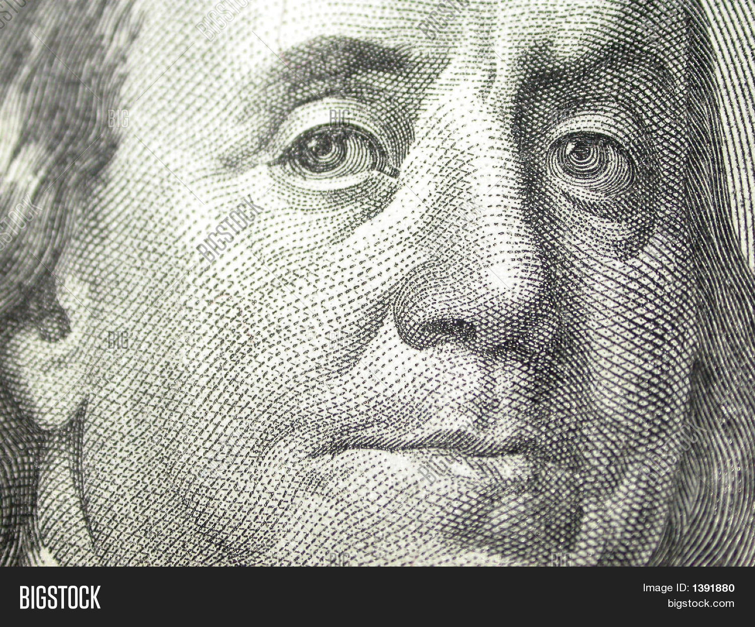 Ben Franklin Close Up Stock Photo Amp Stock Images