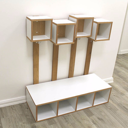 Children s Furniture Contemporary Collection Andreas Janson Emily Wardrobe Collection
