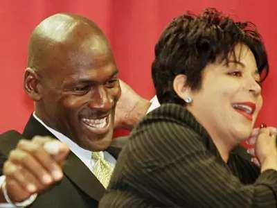 #10 Michael and Juanita Jordan