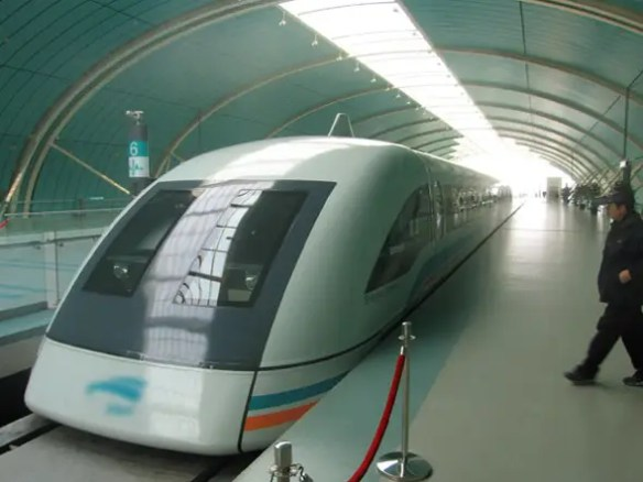 $5 BILLION:The Shanghai-Hangzhou maglev project will create the fastest inter-city train in the world at 280 mph