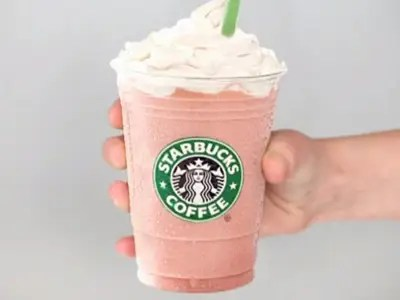 A picture of a Starbucks Frappuccino