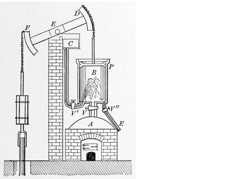 The steam engine was not James Watt's idea