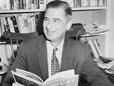 Dr. Seuss' first book was rejected by 27 different publishers.