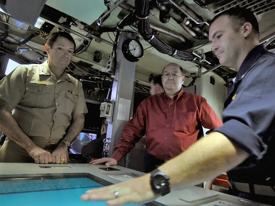 The Virginia subs carry a full crew of 134 sailors