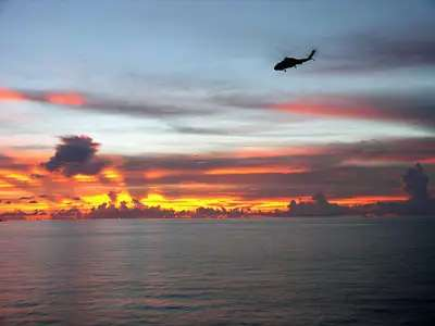 The South China Sea geopolitical hotspot blows up