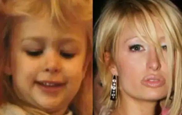 Paris Hilton was just a wide-eyed little girl before she became a famous socialite.