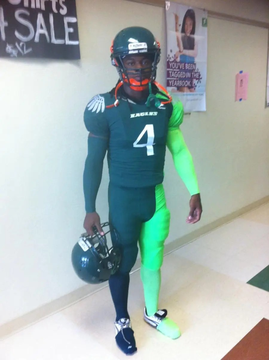 atlantic high school football uniform