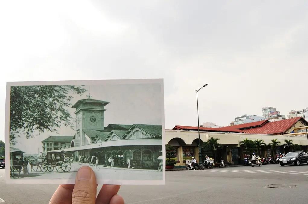 Bến Thành Market, Saigon 1922