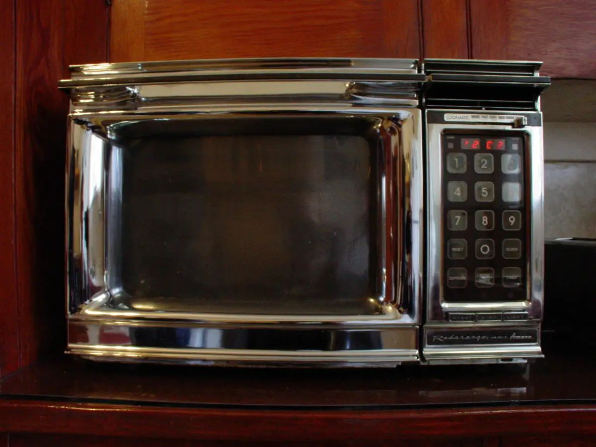 Microwave radiation won't cause cancer, it just heats food up. In fact only a few types of radiation cause cancer, and these depend on the dose — just like radiation from the sun can cause skin cancer but just enough helps your body make Vitamin D.
