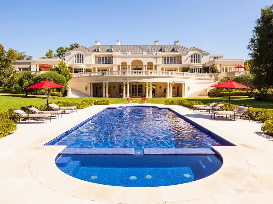 6. Walt Disney's former Los Angeles, California, Carolwood Estate sold for $74 million.