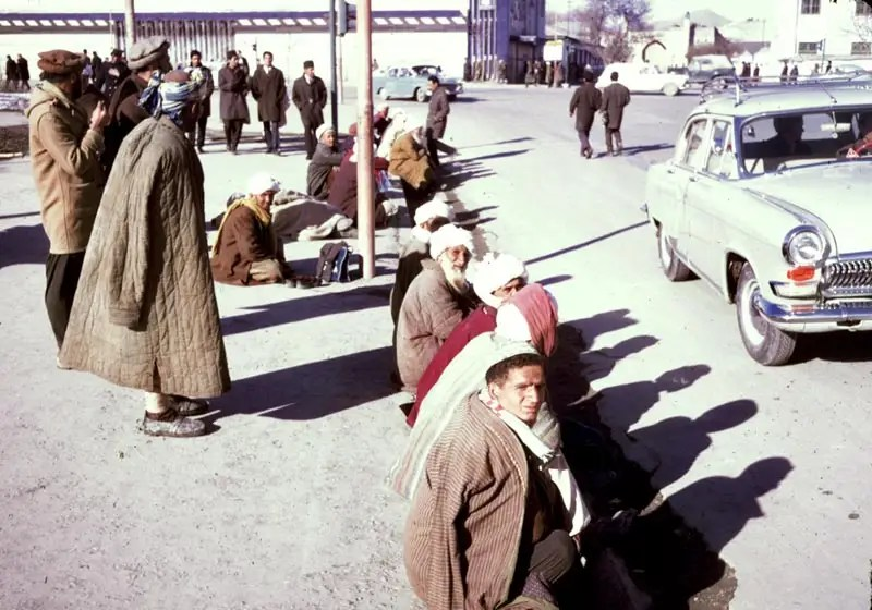 Afghanistan had a national identity, and national style, despite all the 'western' influence.