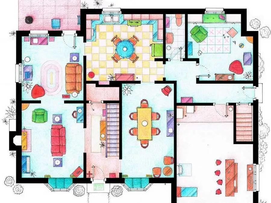 House Of Simpson Family Ground Floor