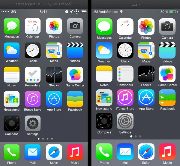 Designer Comes Up With Better iPhone App Icons - Business ...