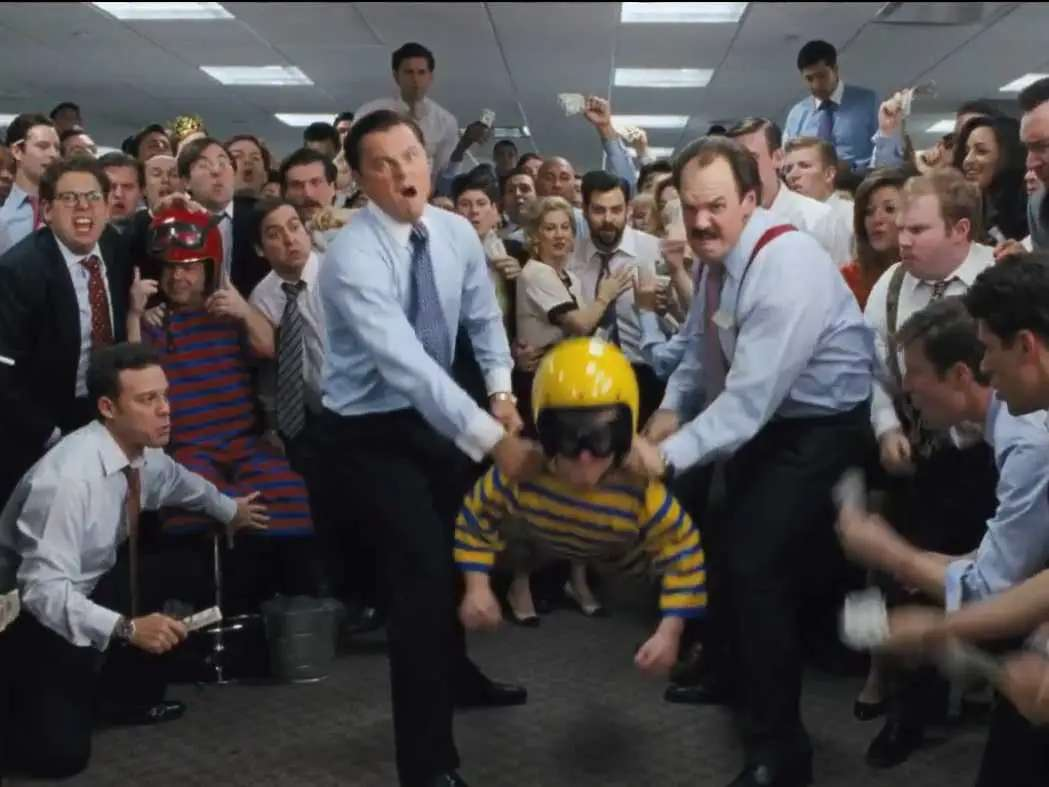 Wolf Of Wall Street 15 Outrageous Scenes From Martin Scorsese S