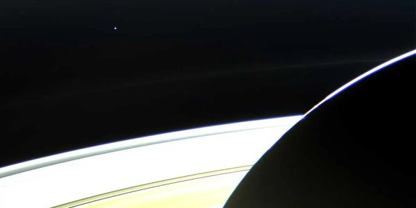 The First Glimpse Of Earth As Photographed By The Cassini ...