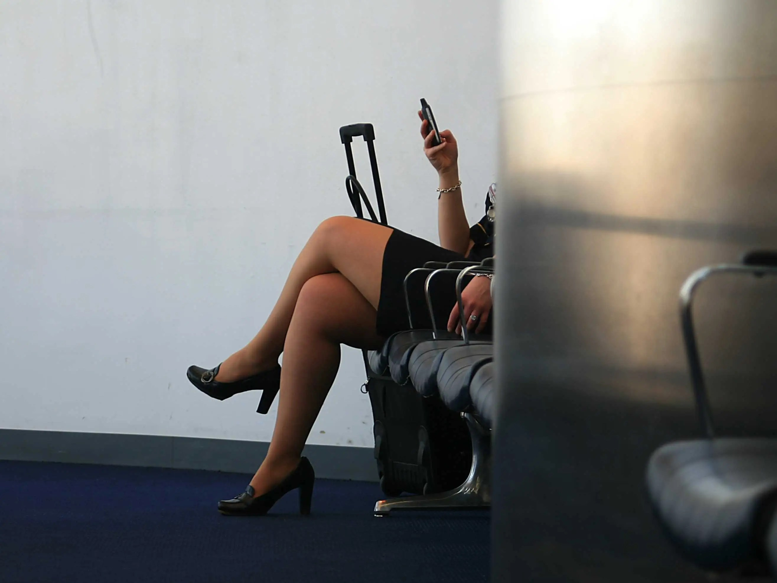 Resultado de imagen para hot azafata de avión