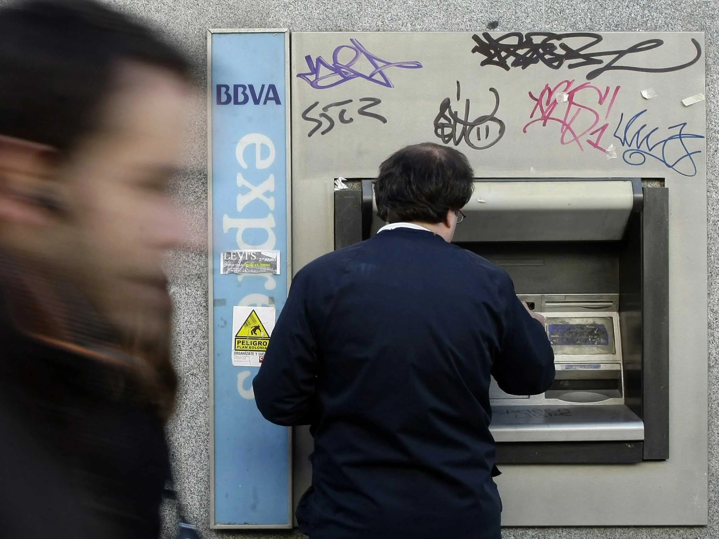 bbva spanish bank atm