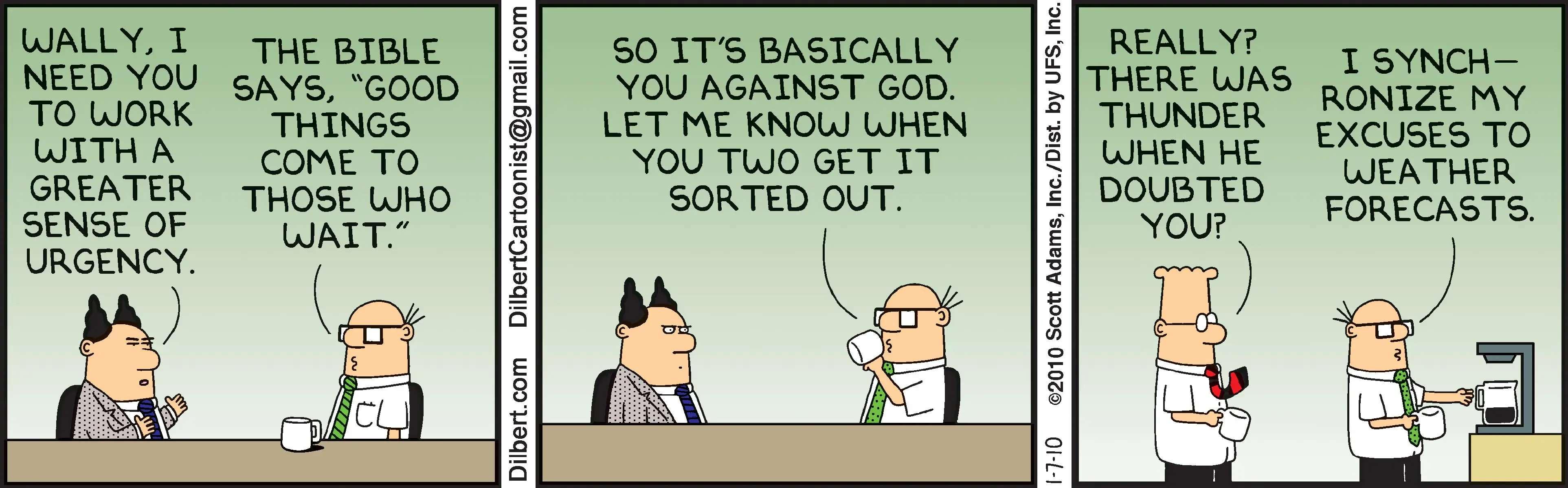 You against God