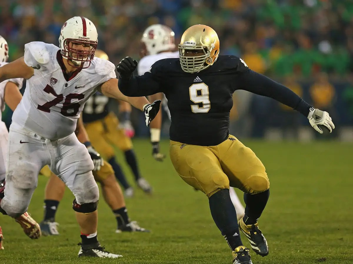 10. Louis Nix III, defensive tackle (Notre Dame)