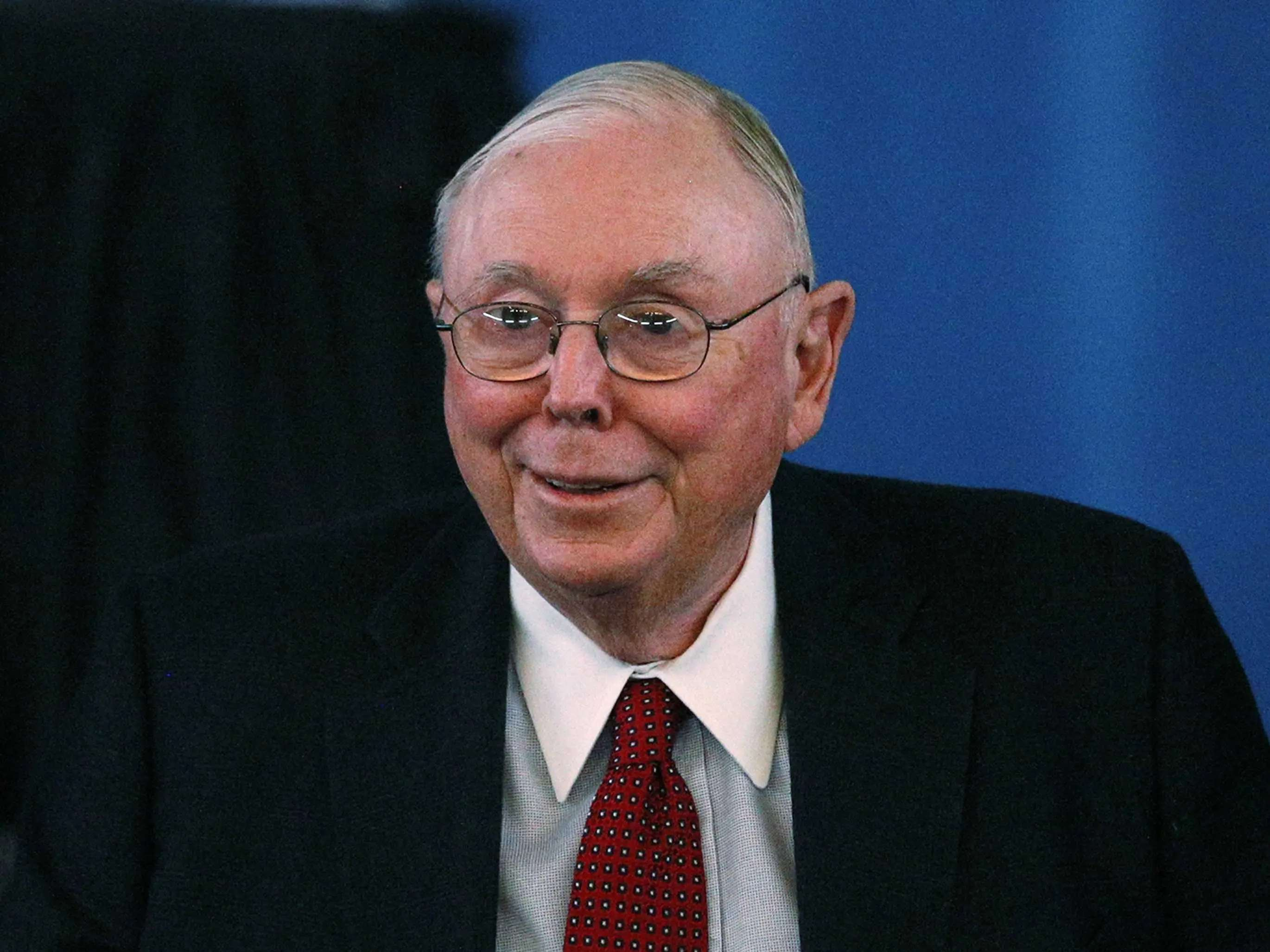 Charlie Munger is devoted to the Economist.