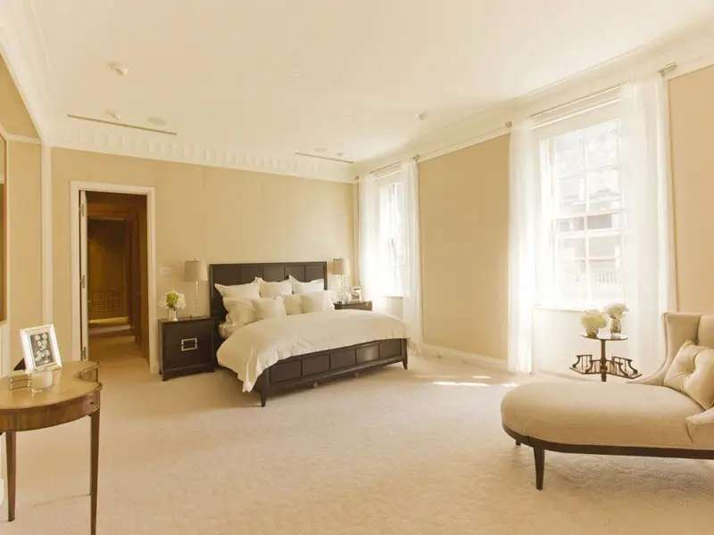 Here's a view of the master suite.