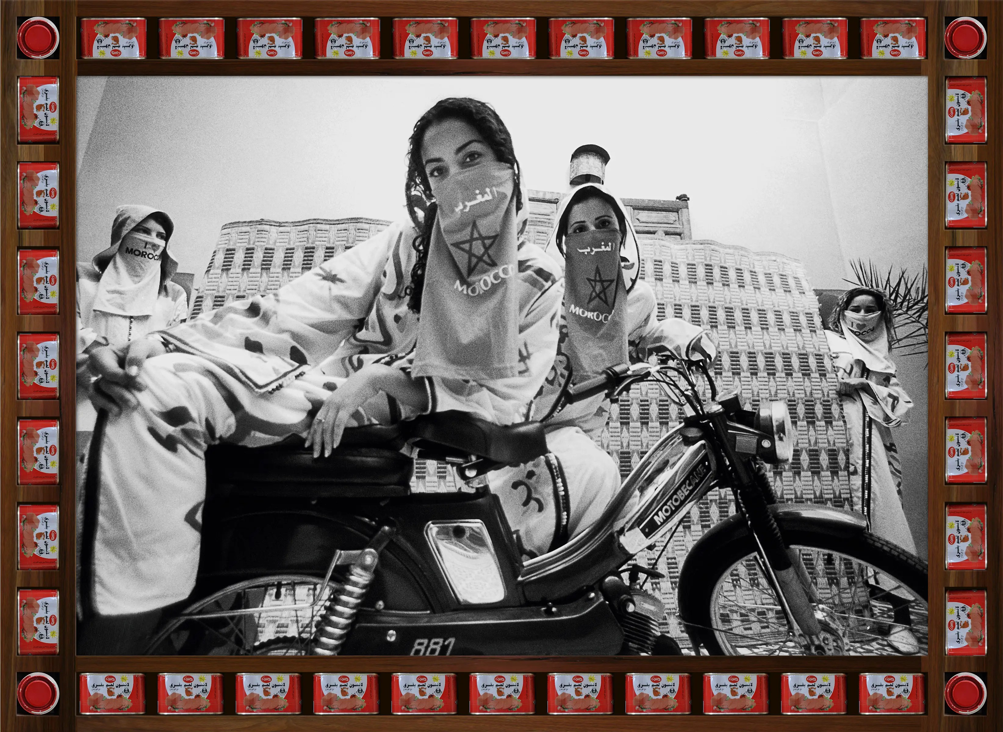 Because of the winding streets of Marrakesh's historic center, almost all Moroccans ride motorbikes to get around.