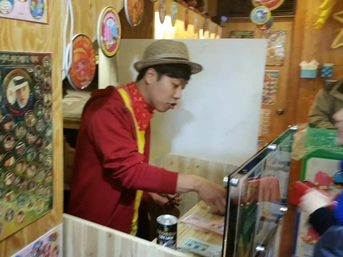 I paid this guy 5,000 won (about $5 U.S.) and asked for chocolate, but I still had no idea what I was getting.