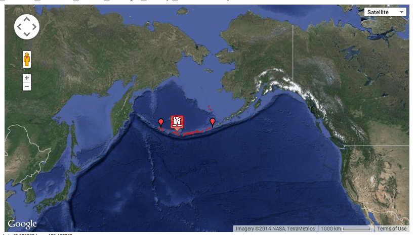 Aleutian Arc earthquake alaska