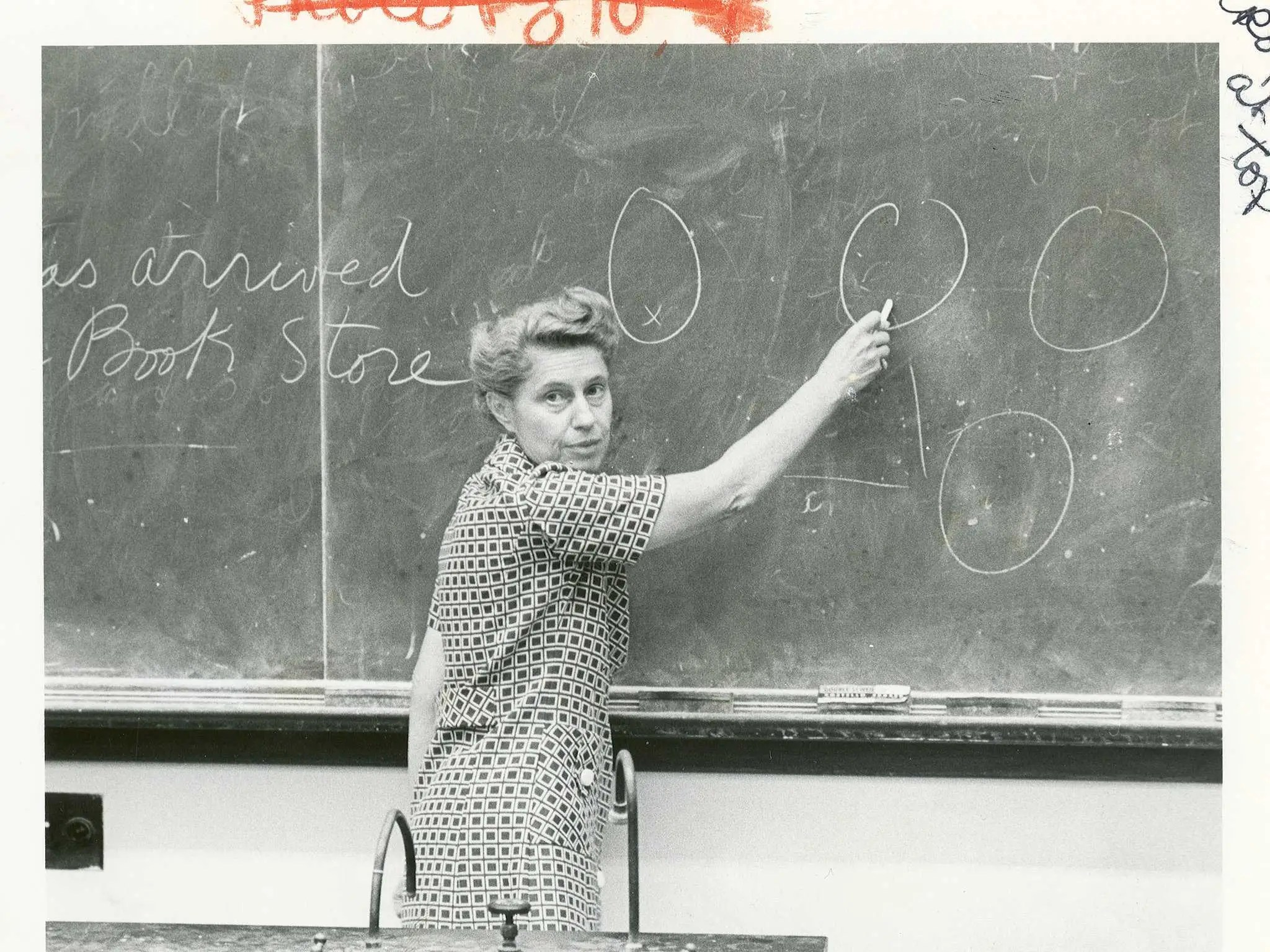 chalkboard teacher black white