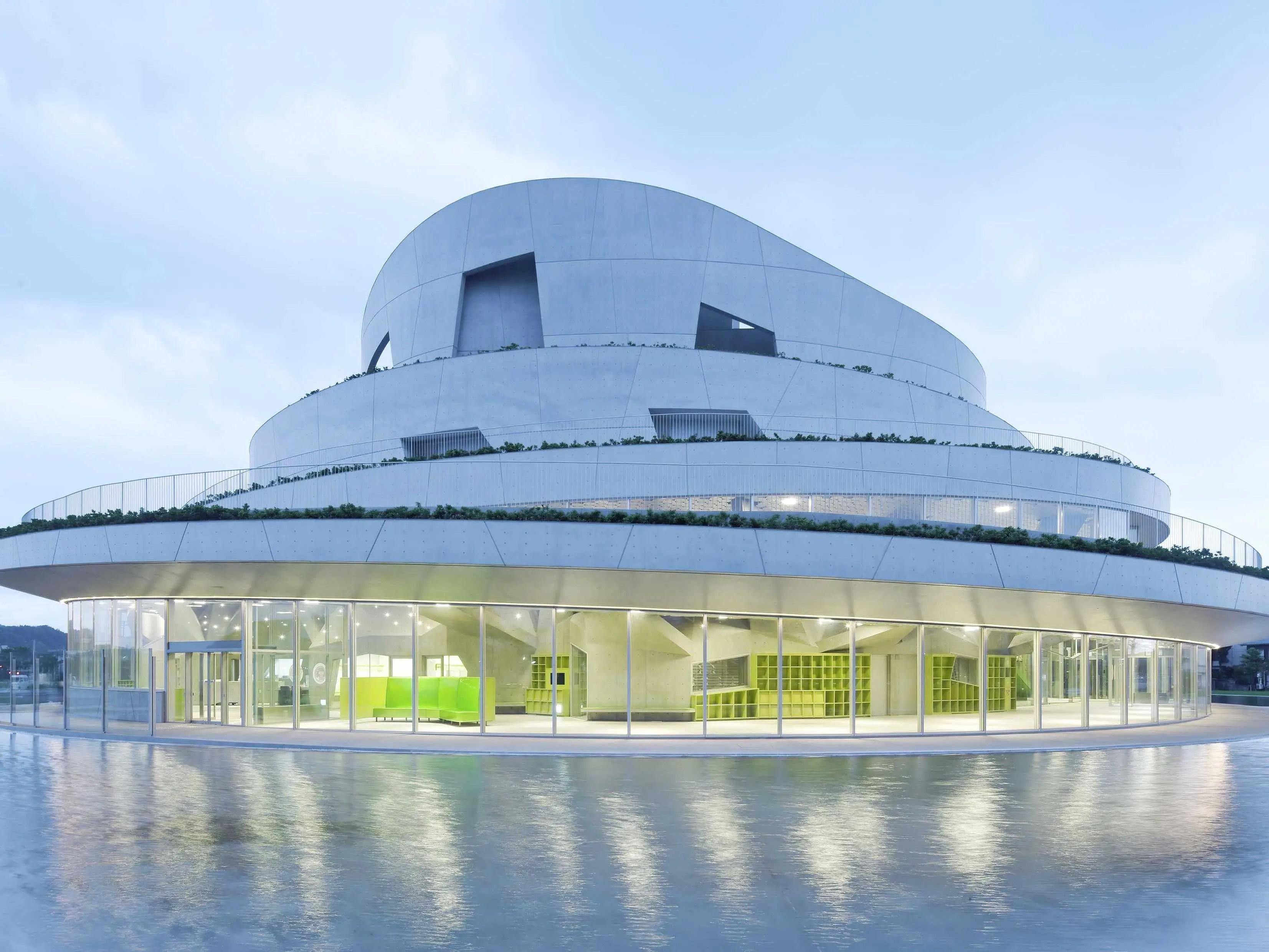 Akiha Ward Cultural Center by Chiaki Arai Urban and Architecture Design, Niigata, Japan (shortlisted in Culture)