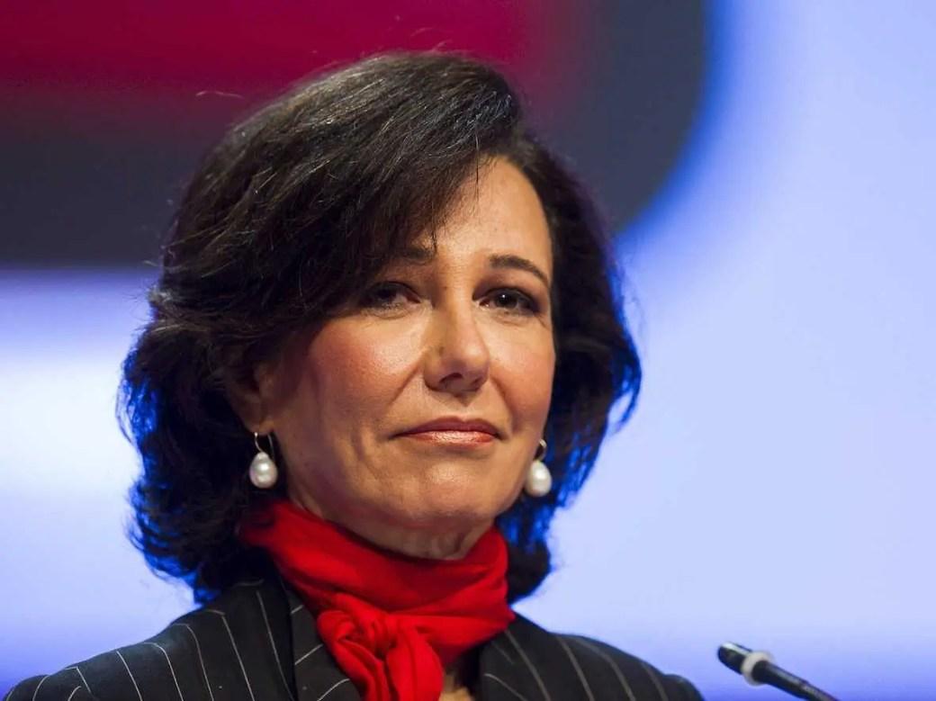9. Ana Patricia Botín: presidente do Grupo Santander, Banco Santander, Espanha