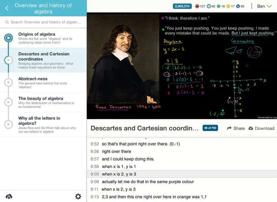 Khan Academy is a free way for anyone in the world to learn more.