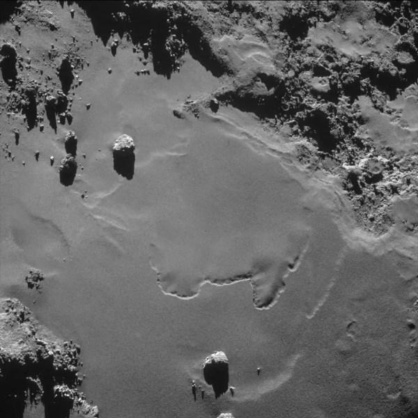 Rosetta Images Of Comet 67PChuryumovGerasimenko