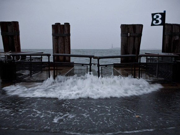 Eventually, entire sections of New York City will be permanently submerged. Rising seas have already increased water levels near in the area by nearly 1.5 feet since the mid-1800s. As a result, dangerous waves are now as much as 20 times more likely to overwhelm the Manhattan seawall than they were 170 years ago.