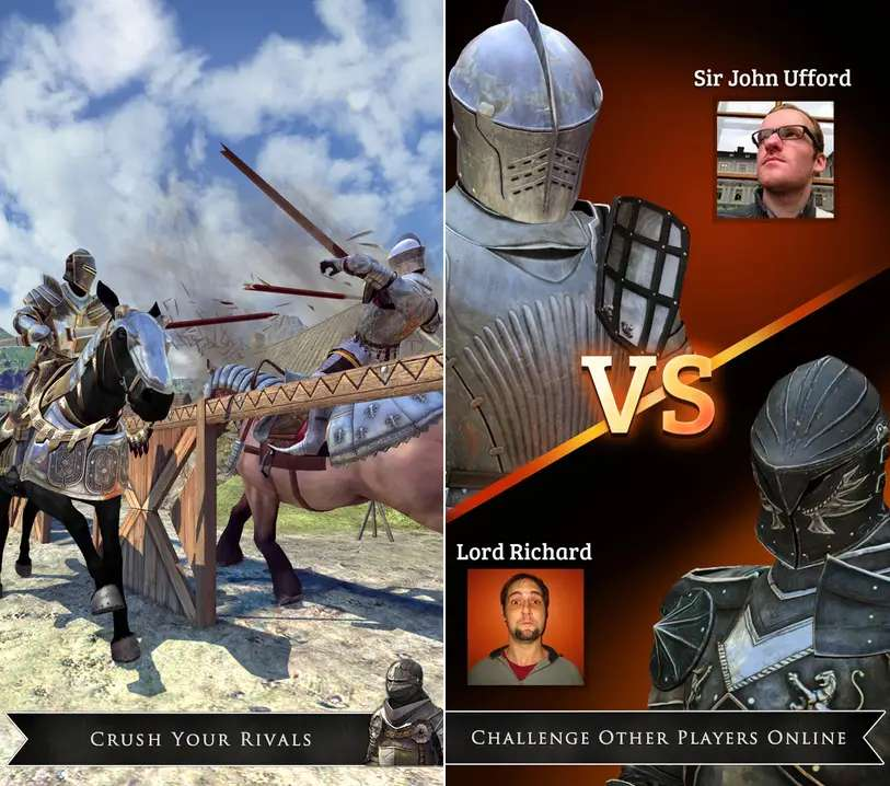 Rival Knights lets you joust against your friends.