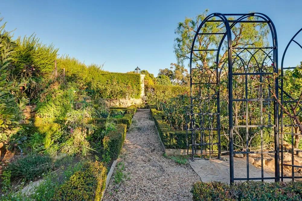 And an organic garden.