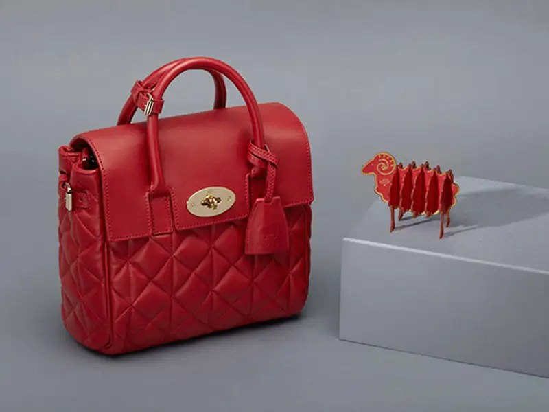 Mulberry Limited Edition Mini Cara Delevingne Bag