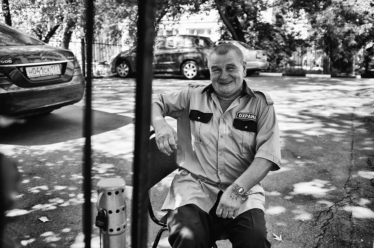 """Vadim, age 70. Profession: Driver. Passion or Dream: """"I want to have a long life."""""""