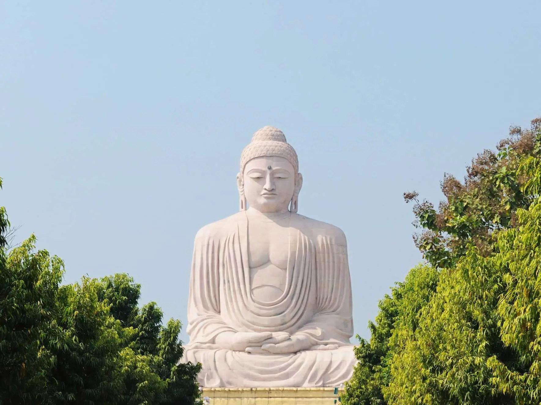 Giant Buddha Bodhgaya