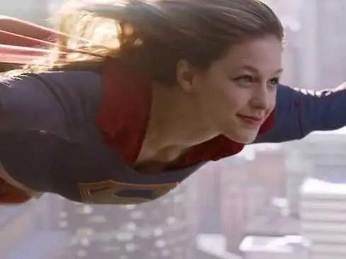 supergirl flying CBS