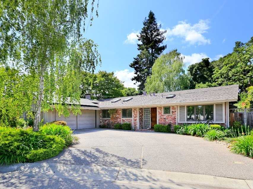 This four-bedroom home on a quiet cul-de-sac will set you back $2.2 million.