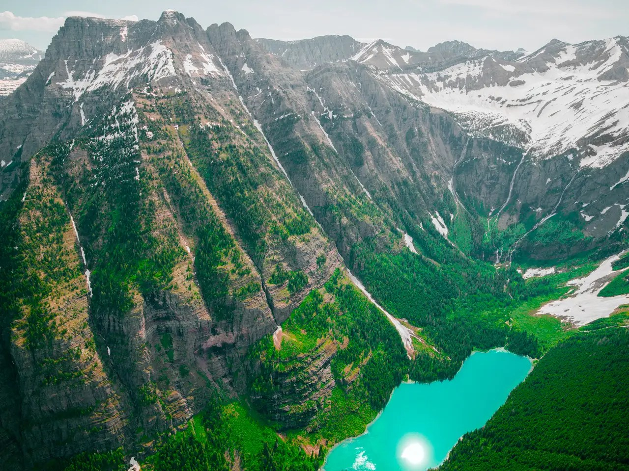 When it comes to sweeping landscapes, Senatori loves Montana, especially Glacier National Park.