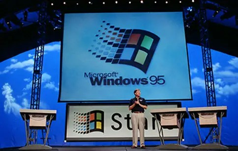bill gates windows 95