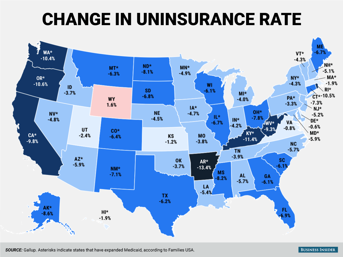 Americans Uninsured Many How