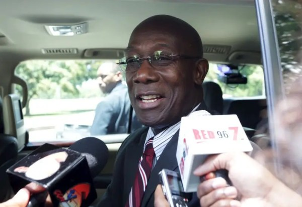 Trinidad's new prime minister, Keith Rowley, sworn in ...