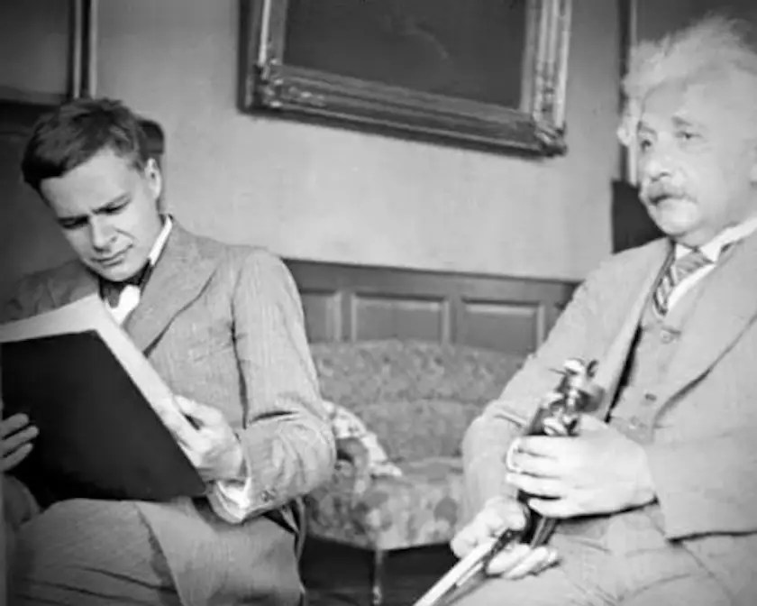 Though his family was well aware of Einstein's fame, they did not understand why.