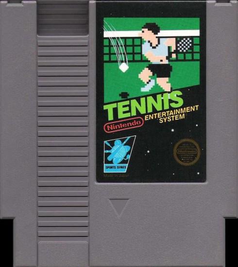 And a copy of 'Tennis' for the original Nintendo Entertainment System: