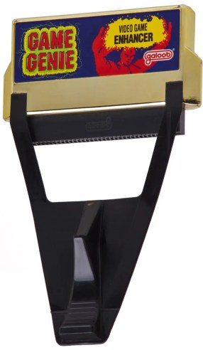 "If you can get your hands on a working Game Genie — a device for hacking ""cheats"" into games —there's an even easier way to just input a code and access all these levels."