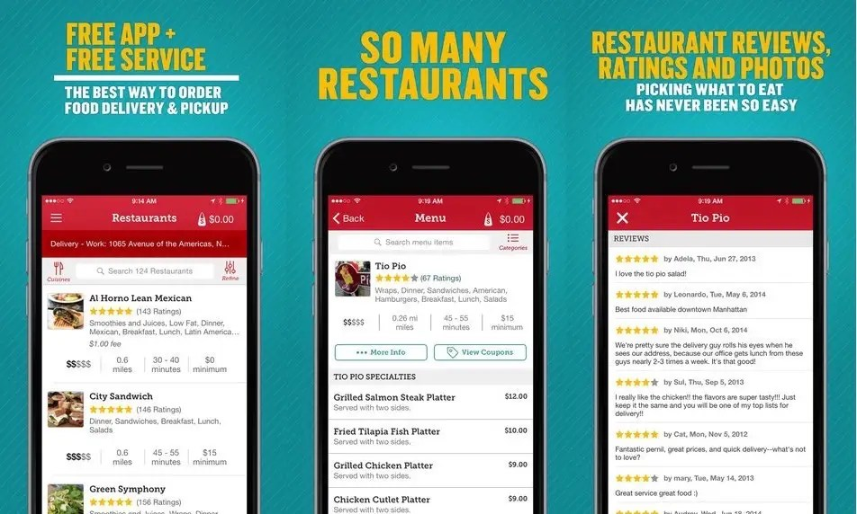 Seamless makes ordering takeout a breeze.